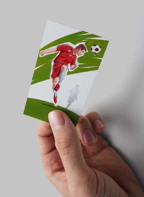 Mundial board game card mockup by Jakub Cichecki