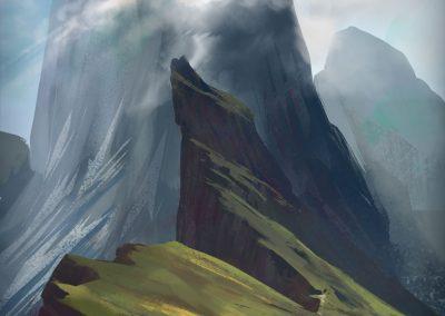 Seceda color study by Jakub Cichecki