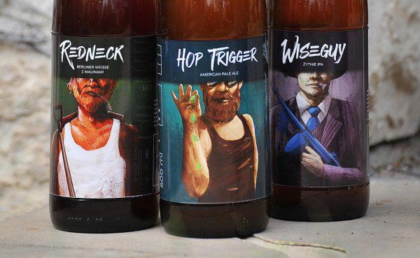The Garage Monks beers closeup by Jakub Cichecki